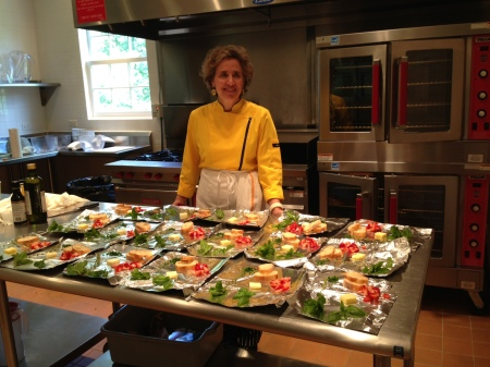 Martha Stafford, founder of the Charlottesville Cooking School.